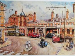 Bygone Derby Bus Station print by Colin Wright